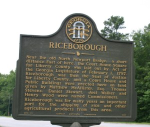 Riceborough Marker